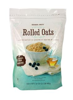 gluten free oats are a must. Most oats are processed with wheat and are not GF. I use these from Trader Joe's. You can find them elsewhere, but I find these to be more affordable.