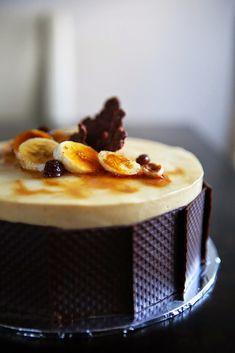 Gourmet Baking: Banana, Caramel and Hazelnut Entremet