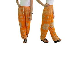 Women's Yellow Elephant Pants Harem Pants  Hippie Pants https://www.etsy.com/listing/241748077/womens-yellow-elephant-pants-harem-pants?ref=shop_home_active_13