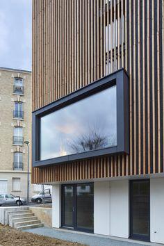 maison contemporaine bois bm architectes