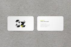 Jorge Urías Garza - Business Card Design Inspiration | Card Nerd