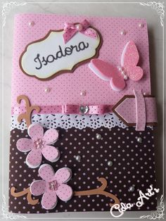 Kids Crafts, Foam Crafts, Diy And Crafts, Arts And Crafts, Paper Crafts, Scrapbook Cover, Scrapbook Albums, Mini Albums, Altered Composition Notebooks