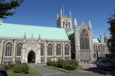 Great Yarmouth Minster and its graveyard are the setting for Great Yarmouth Heritage Walks - The Graveyard Walk on 31 October 2014.