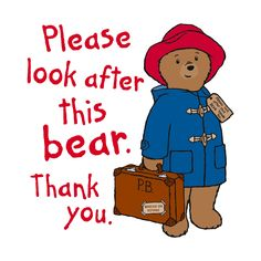 Paddington Bear is a fictional character in children's literature. He first appeared on 13 October 1958 and has featured in more than twenty books written by Michael Bond and illustrated by Peggy Fort