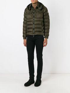 #moncler #jacket #man #militar #green #padded #fashion #style www.jofre.eu