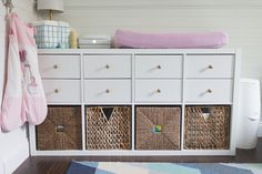 {5 Reasons I Love My Ikea Kallax Change Table} » ohmygee.ca