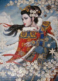 1000 Jumbo Winter's Majesty (Karl Bang)  #Puzzle