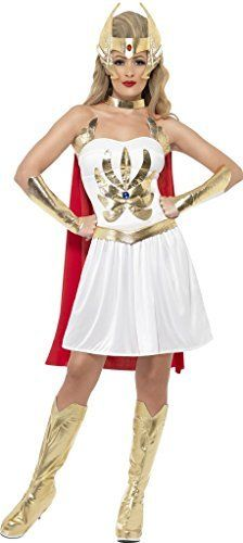 nice       £22.38  The She-Ra is the twin sister of He-Man Master of the Universe. Perfect for any 1980s or TV themed events.White dress with boo...  Check more at http://fisheyepix.co.uk/shop/womens-she-ra-1980s-fancy-dress-costume-size-small-fits-8-to-10/