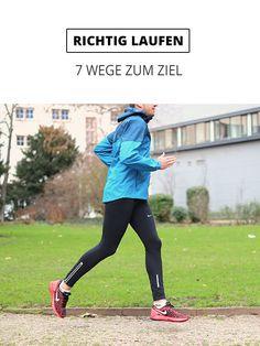 Richtig Laufen - in 7 Wegen zum Ziel
