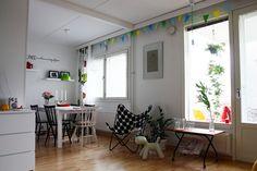 Marimekko Kivet butterfly chair