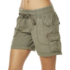 Womens Rip Curl Almost Famous Ii Womens Short Green Cotton ($54) ❤ liked on Polyvore featuring shorts, cargo shorts, green, women, drawstring shorts, eyelet shorts, short shorts and green cargo shorts