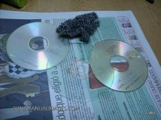 prepare a cd for making jewelry