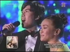 Joanna Ampil & Christian Bautista sing One Hand One Heart
