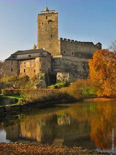 Hrad Kost na podzim