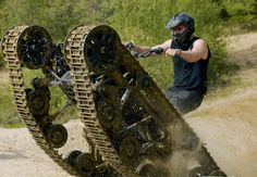 All Terrain Vehicle With Tank Treads – The Only ATV You Will Ever Need