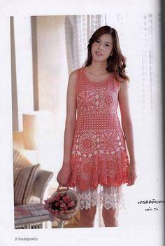 Платье тайское розовое мотивы сетка (4)