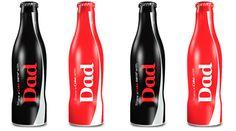 Coca-Cola lança edição especial para o Dia dos Pais