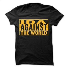 IDA Against The World - Cool Shirt ! - #grafic tee #sweater outfits. PURCHASE NOW => https://www.sunfrog.com/Hunting/IDA-Against-The-World--Cool-Shirt-.html?68278