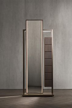CONTINUUM MIRROR | DUMB WAITER - Clothes racks from Flou | Architonic