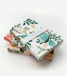 Awesome Diy gift Personalized keepsake jewelry for mom Botanical journals from rifle paper - affordable, lovely gifts Source by coolmompicks. Notebook Design, Journal Notebook, Journals, Journal Design, Beautiful Notebooks, Cute Notebooks, Cute Stationery, Stationery Design, Pastel
