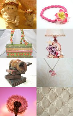 ANGELS WHO READ.....................Gratitude Treasury by Pat Peters on Etsy--Pinned with TreasuryPin.com