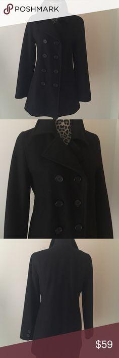 "J.Crew Pea Coat J.Crew Pea Coat; 80% Wool, 20% Nylon;  Thinsulate Insulation;  Style 61417;  30"" Length; 24"" Sleeve Length, 36"" Bust; Dry Clean J. Crew Jackets & Coats Pea Coats"