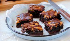 בראוניז שוקולד כשר לפסח עם חמאת בוטנים | The Kitchen Coach