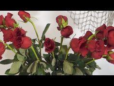 Как оживить увядшие розы - YouTube