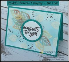 Congratulations handmade card - Thoughtful Branches Limited Edition Stamp Set by…