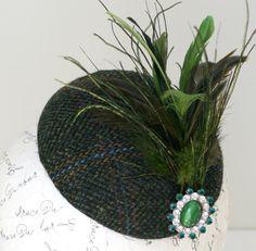 Love this Harris Tweed hat!