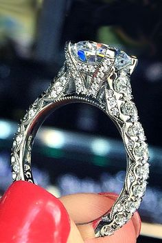 18 Utterly Gorgeous Engagement Ring Ideas ❤ See more: http://www.weddingforward.com/engagement-ring-inspiration/ #wedding #ring #engagement
