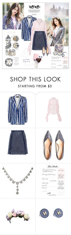 """""""We met and we loved, it has become a lasting memory"""" by maybones ❤ liked on Polyvore featuring xO Design, ESCADA, Acler, Sonia Rykiel, Polaroid, Chanel, spotted and stylegoals"""