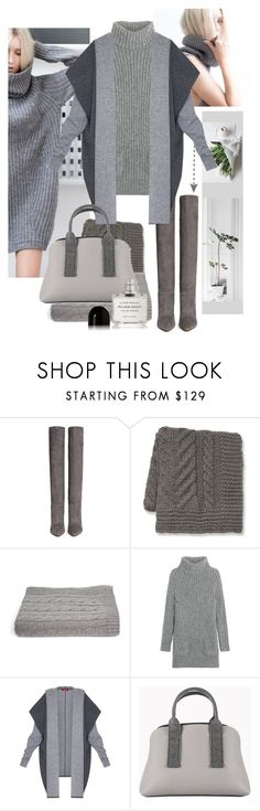 """knitwear"" by marybloom ❤ liked on Polyvore featuring Gianvito Rossi, Williams-Sonoma, a&R, TSE, MaxMara, Brunello Cucinelli, Byredo, knitwear and sweaterdress"