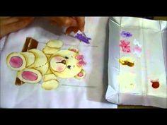 Ursinha Giovana - Parte 2 - Como pintar fraldas - Ariane Cerveira - YouTube