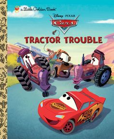 tractor trouble disneypixar cars by frank berrios books for kidschildrens