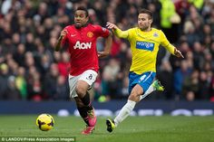Dead wood: Man United are facing trouble in getting rid of out-of-favour midfielder Anders...