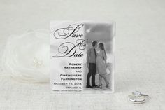 Classic Romance - Save the Date Magnet by MagnetStreet