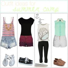 Summer Outfit Ideas for Teens | fashion look from July 2013 featuring LIU•JO t-shirts, Dorothy ...