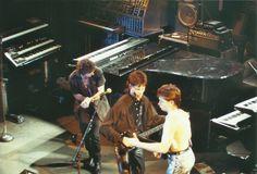 Three - 3 - Keith Emerson, Robert Berry & Carl Palmer - The Ritz, NYC, April 1988