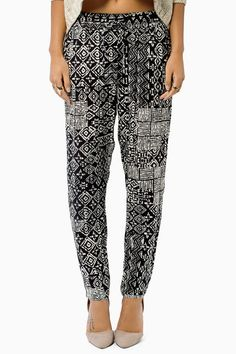 Been really into printed pants lately.