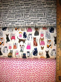 Cool Cats Cotton Fabric by Windham Purrfect for all Kitties!