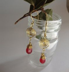 Ancient Greek stylewith Natural gemstone by ORIGINALsPAINTINGS, €25.00