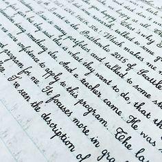 Beautiful Handwriting More