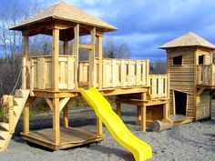 module de jeux Cabanes et Jeux Ludo - Cabanes et Jeux Ludo Ludo, Park, White Cedar, Cabins, Parks