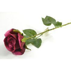 Umelá ruža - bordová
