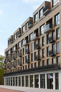 De Trefkoel, Groningen - KENK architecten - all metal balconies?