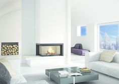 Axis fireplace