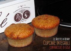 Cupcake Integrali alle Bacche di Goji