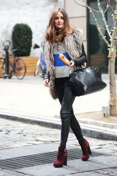 I want pretty: LOOK- How to wear fur vests / Cómo usar chalecos de peluche?