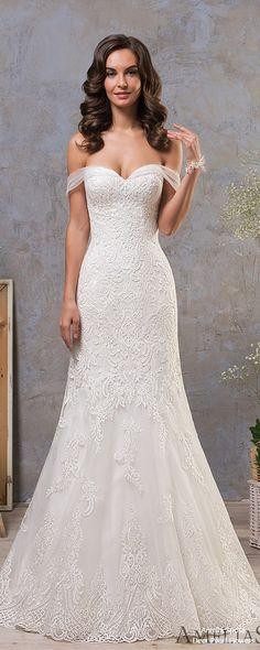 Amelia Sposa 2019 Wedding Dress #weddings #dresses #weddingdresses #bridaldresses #weddingideas #weddinginspiration